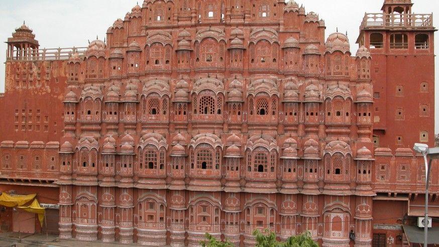 Jaipur, Hauntingly Pink