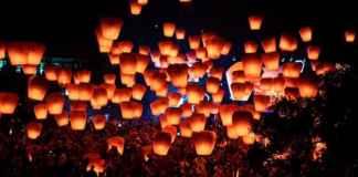 Transporting Wishes at Pingxi Lantern Festival