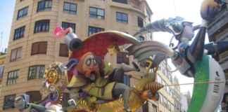 Las Fallas Ablaze In Valencia