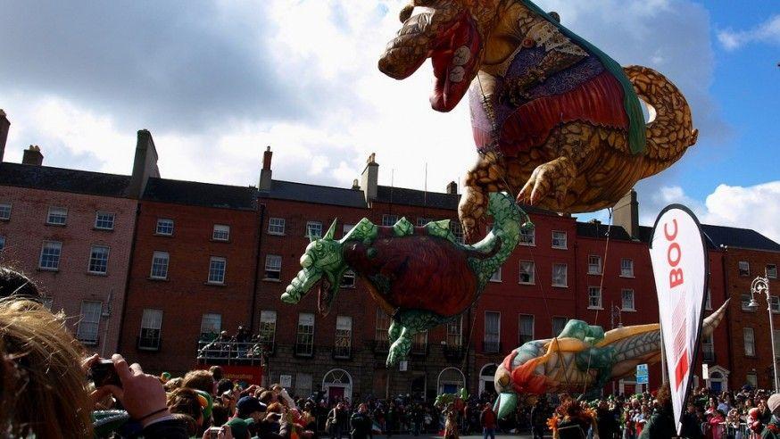Saint Patrick's Day Festival In Dublin