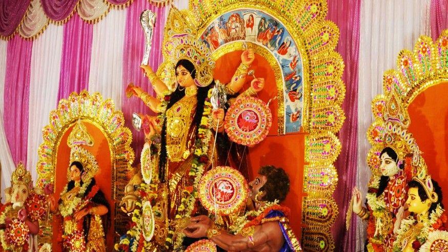 The Vibrant Durga Puja!