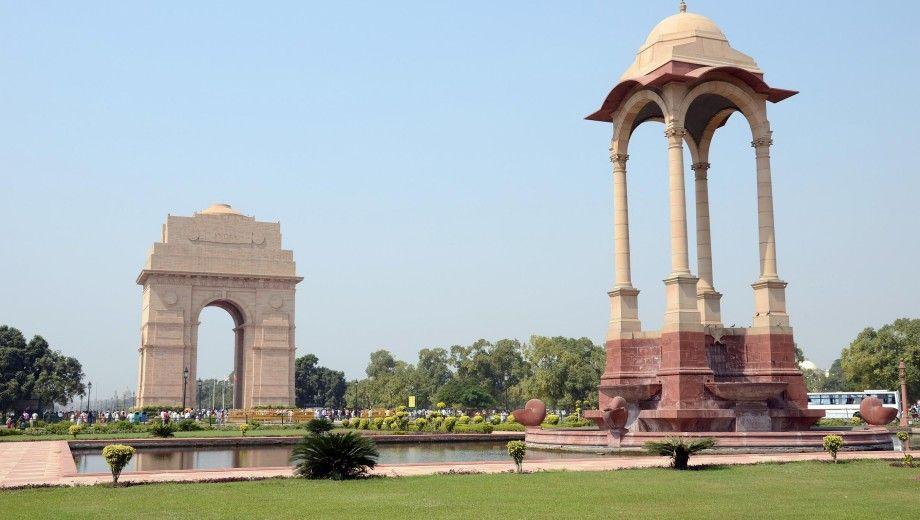 Delhi India Gate And Canopy