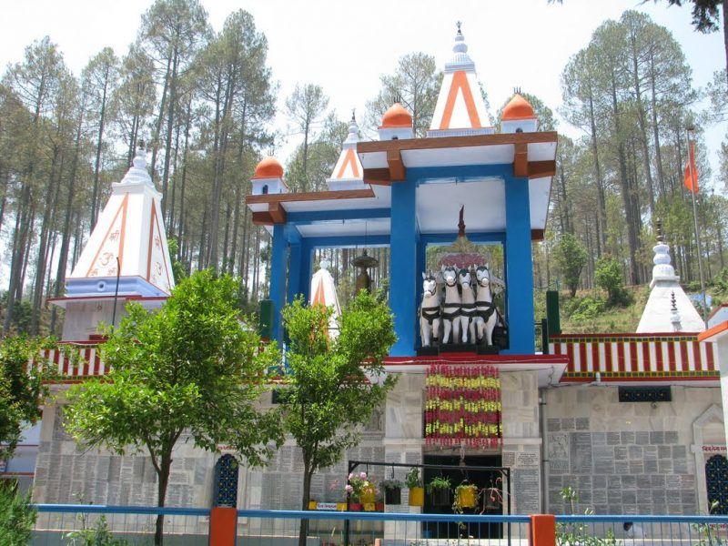 Mahadev Temple Binsar