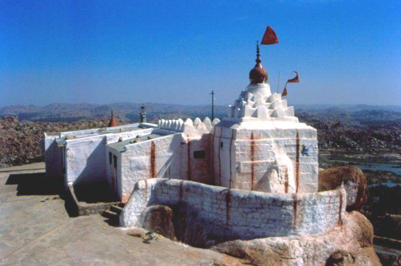 Hanuman Temple, Anegondi