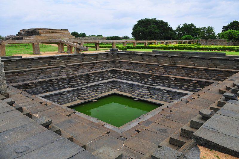 Hampi Stepped Well, Karnataka