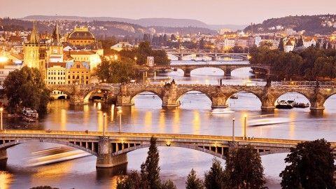 Prague: The golden city of hundred spires