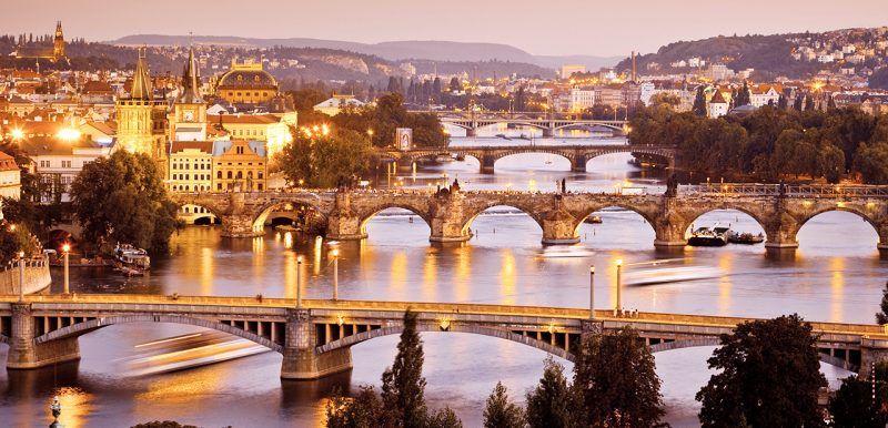 Prague the golden city of hundred spires for Central prague