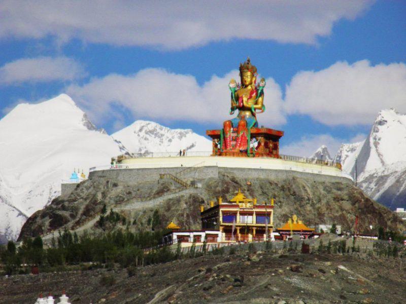 Maitreya at Diskit