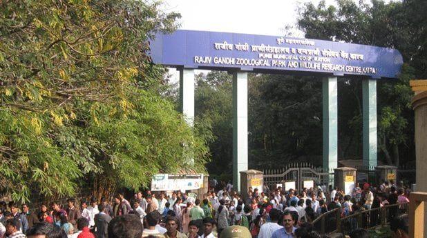 rajiv gandhi zoological park pune