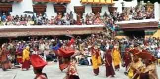 Hemis Monastery Festival Masked Dance Performance