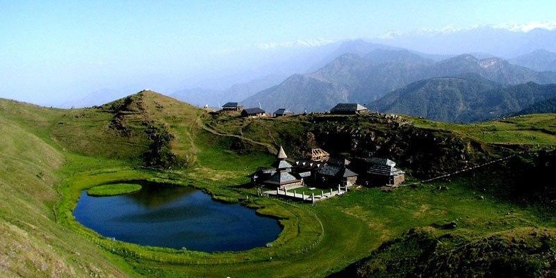 Mandi-Prashar-lake