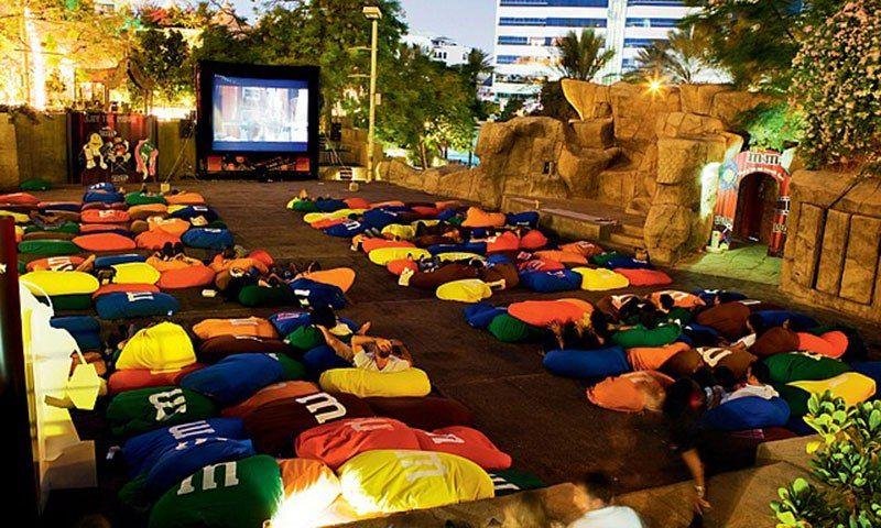 Movies under stars