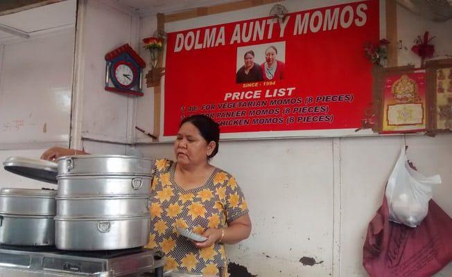 Dolma aunty Ke momos