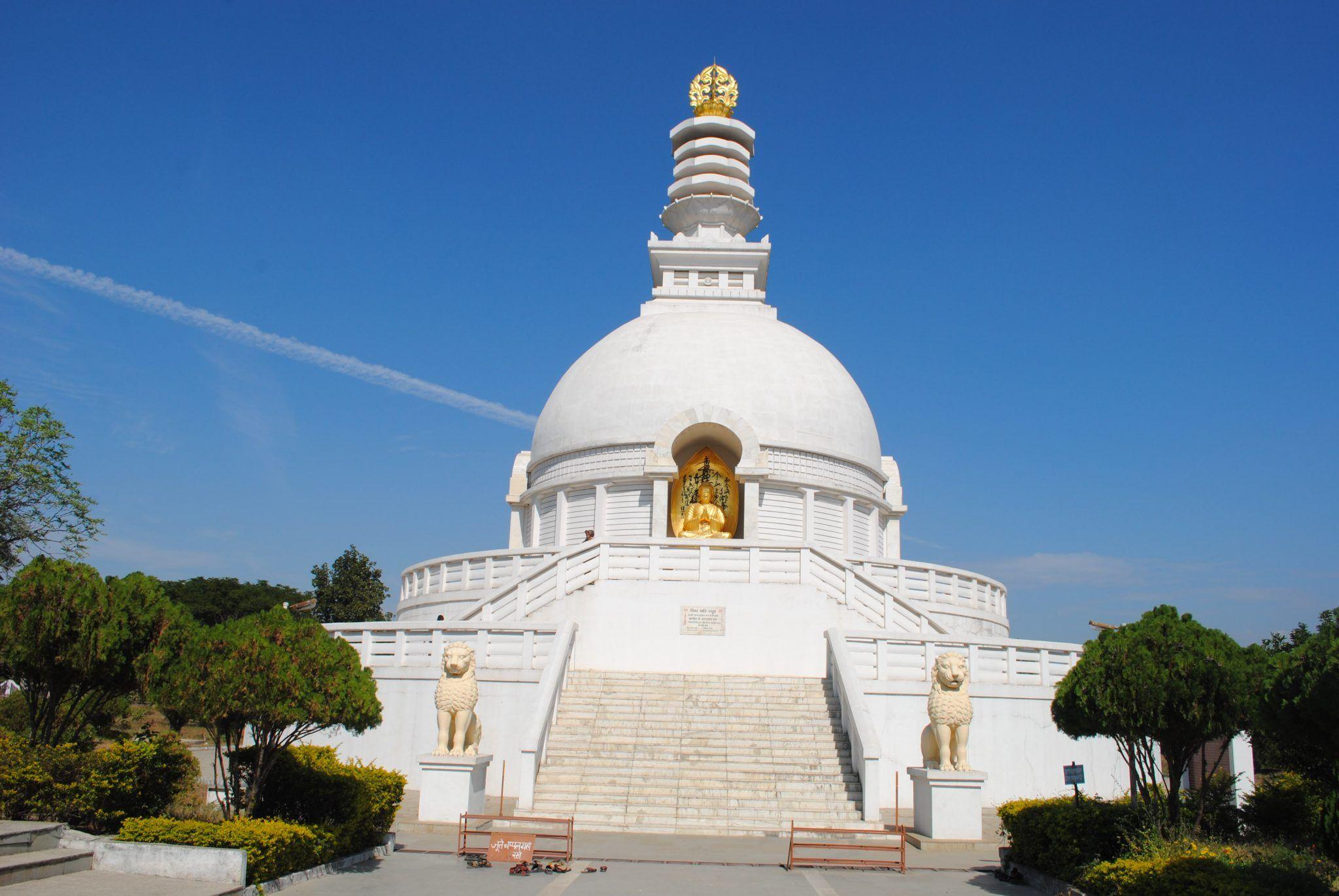 Viswasanthi Stupa at Wardha