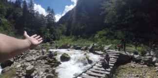 Garhan Village Wooden Bridge