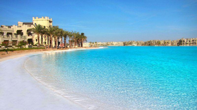Crystal Lagoon, Egypt, Lagoons