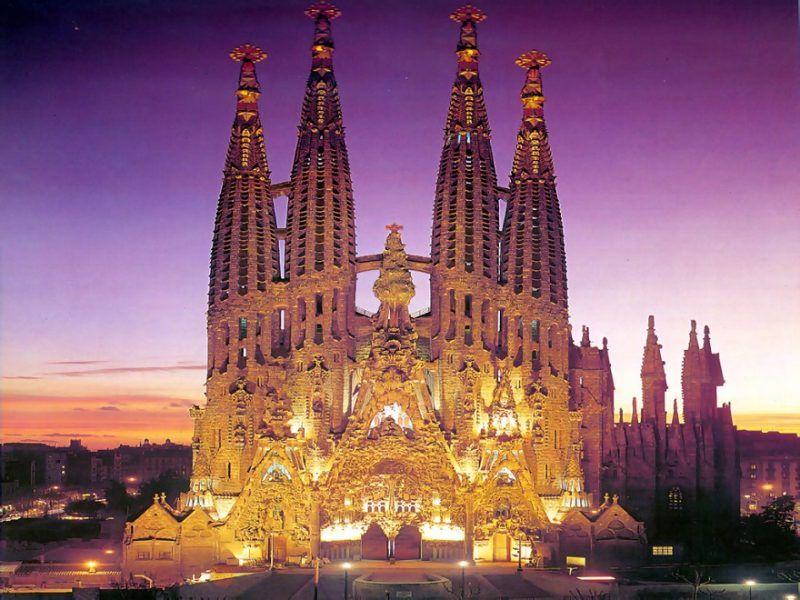 Basilica de la Sagrada Familia,