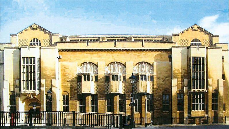 Bristol Central Library, England,