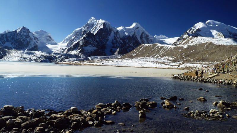 Gurudongmar Lake, Sikkim,