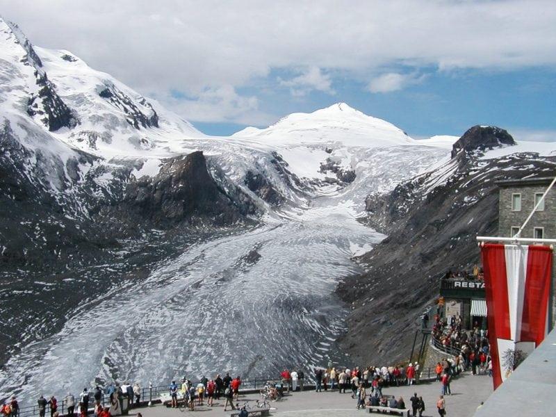 Pasterze Glacier, Austria,