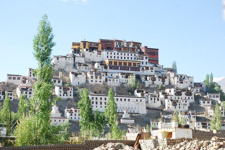 Thikse Monastery,