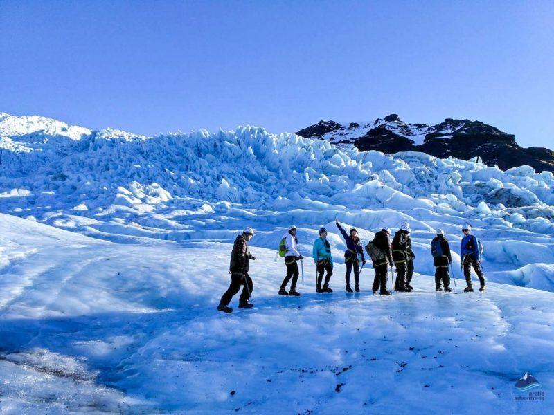 Vatnajokull Glacier,