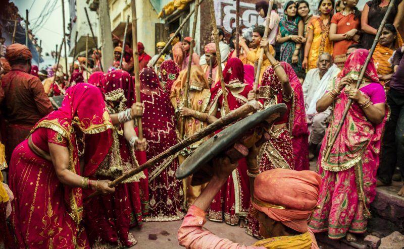 Celebrate Holi in Mathura Vrindavan
