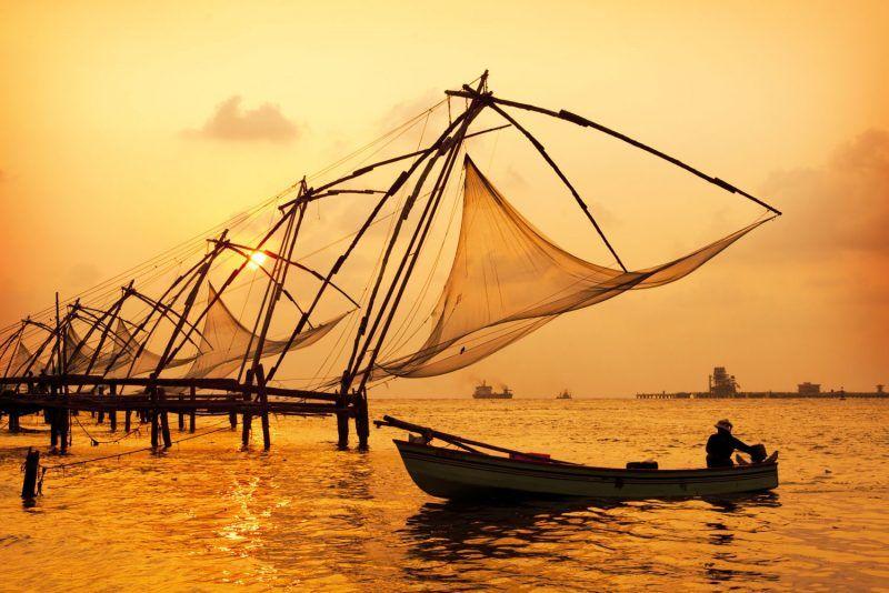 Chinese fishing nets,