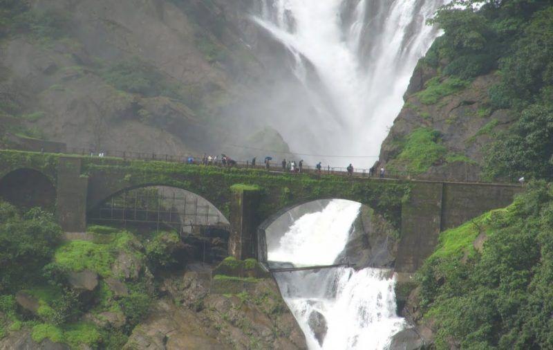 Dudhsagar Falls, Goa,