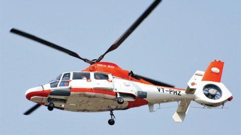 Helicopter service between Shimla & Chandigarh starts