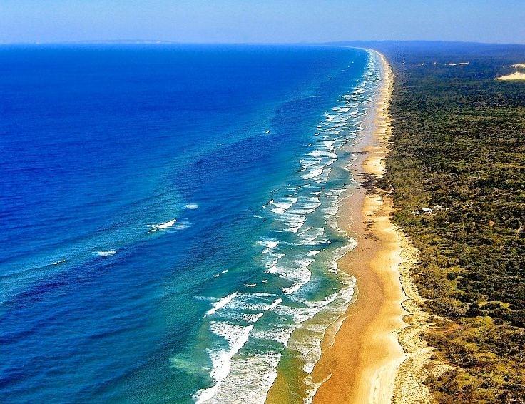 Fraser Island Beach, Queensland,