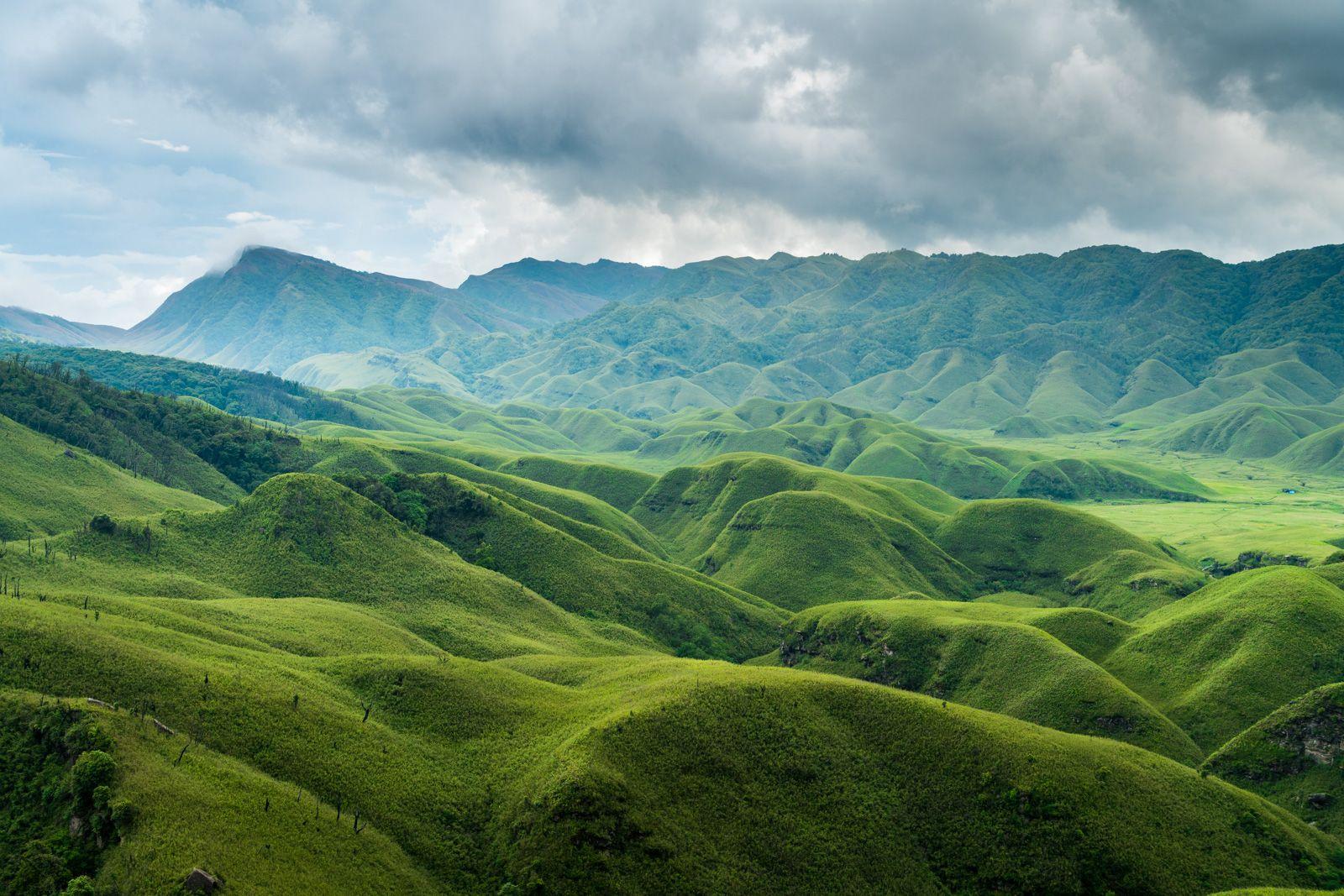 Dzoukou Valley and Japfu Peak,